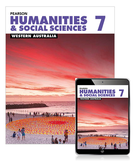 Pearson Humanities and Social Sciences Western Australia 7 Student Book with eBook