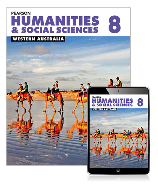 Pearson Humanities and Social Sciences Western Australia 8 Student Book with eBook