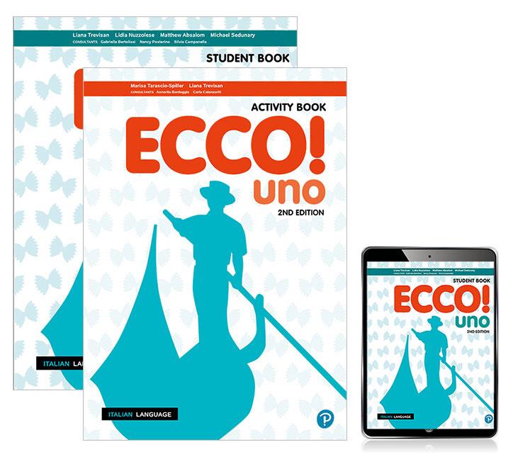 Ecco! uno Student Book, eBook with Activity Book