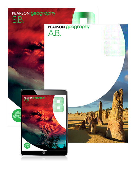 Pearson Geography 8 Student Book and Activity Book with eBook