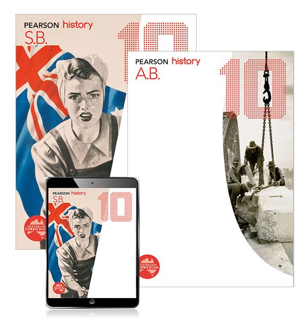 Pearson History 10 Student Book, eBook and Activity Book