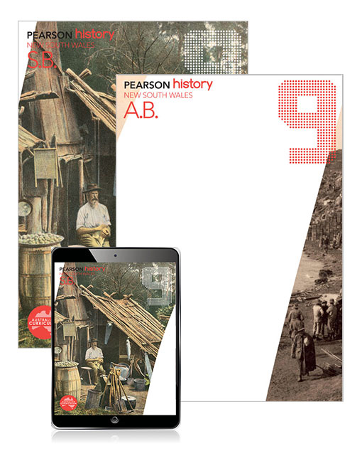 Pearson History New South Wales 9 Student Book, eBook and Activity Book