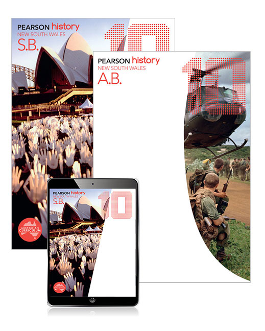 Pearson History New South Wales 10 Student Book and Activity Book with eBook