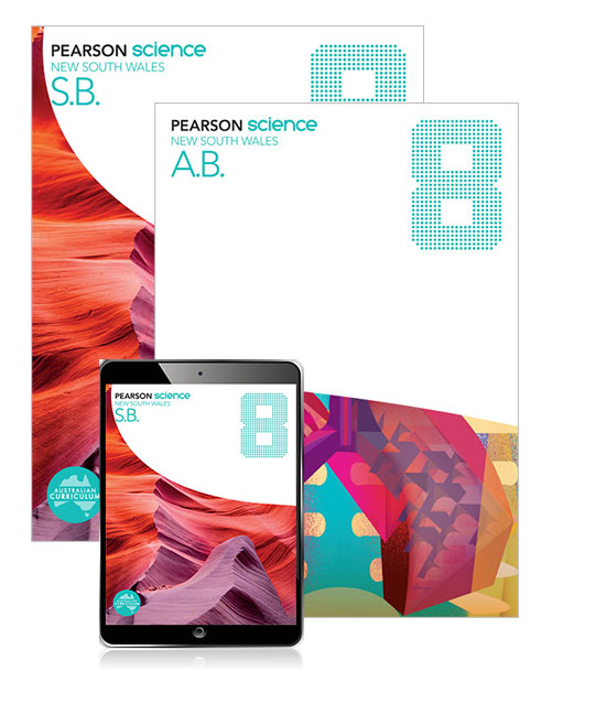 Pearson Science New South Wales 8 Student Book, eBook and Activity Book