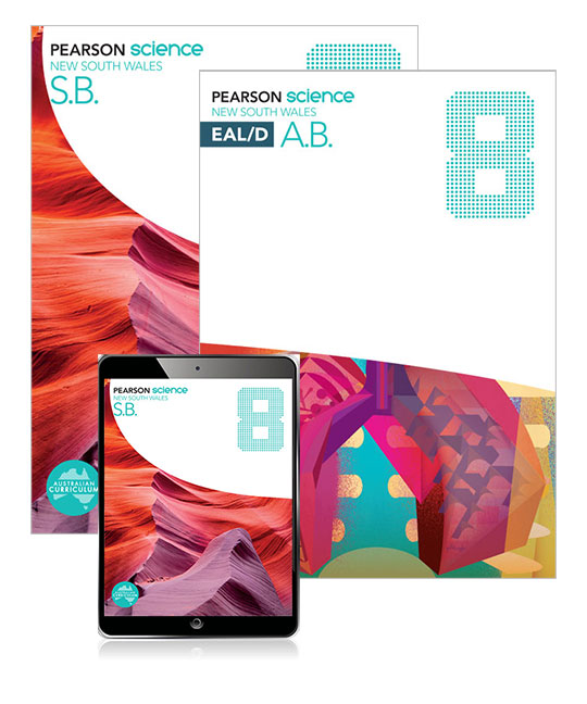 Pearson Science New South Wales 8 Student Book, eBook and EAL/D Activity Book