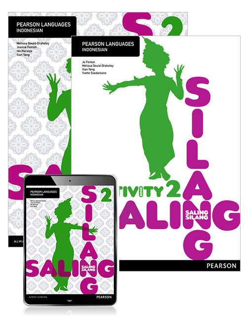 Saling Silang 2 Student Book with eBook and Activity Book