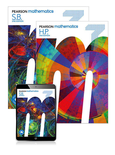Pearson Mathematics 7 Student Book, eBook, Lightbook Starter and Homework Program