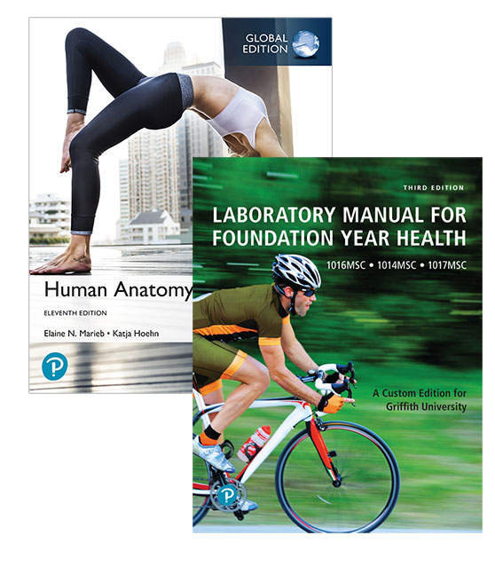 Human Anatomy & Physiology, Global Edition + Mastering A&P with eText + Laboratory Manual for Foundation Year Health (Custom Edition)