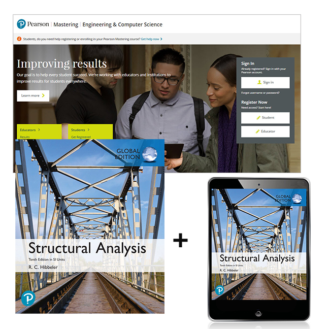 Structural Analysis in SI Units, Global Edition + Mastering Engineering with eText
