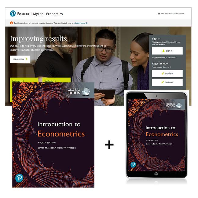 Introduction to Econometrics, Global Edition + MyLab Economics with eText