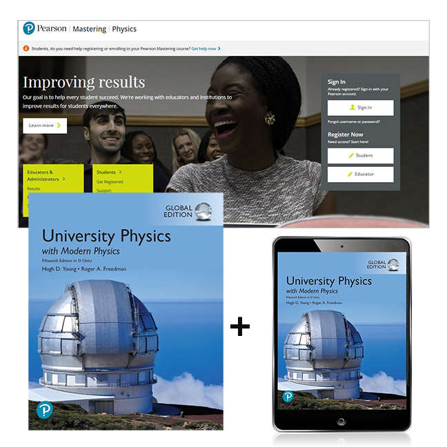 University Physics with Modern Physics in SI Units, Global Edition + Mastering Physics with eText