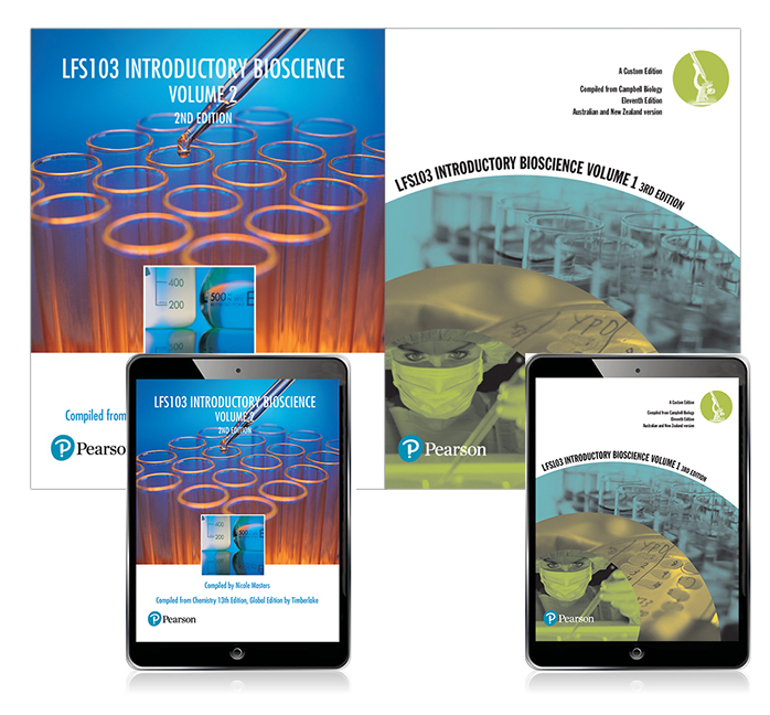 Introductory Bioscience Volume 1 & 2 LFS103 (Custom Edition and eBooks)