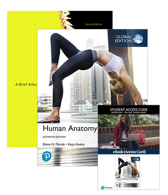 Human Anatomy & Physiology, Global Edition with eBook + A Brief Atlas of the Human Body