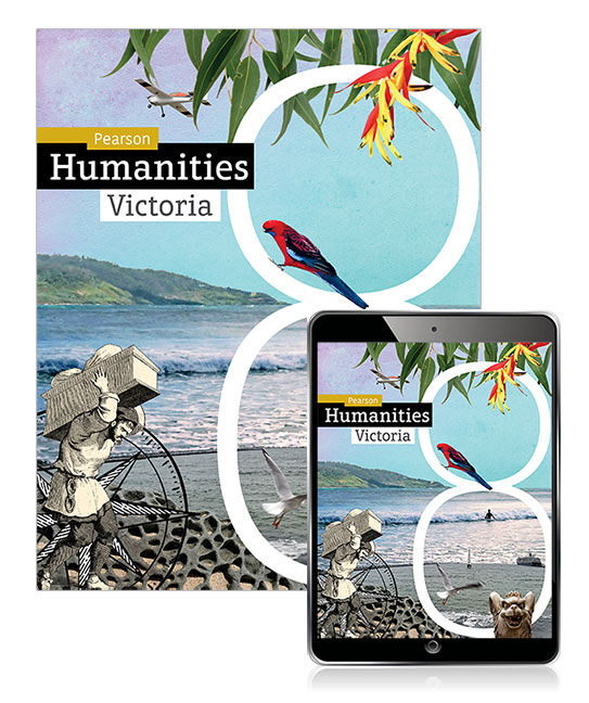 Pearson Humanities Victoria 8 Student Book, eBook and Lightbook Starter