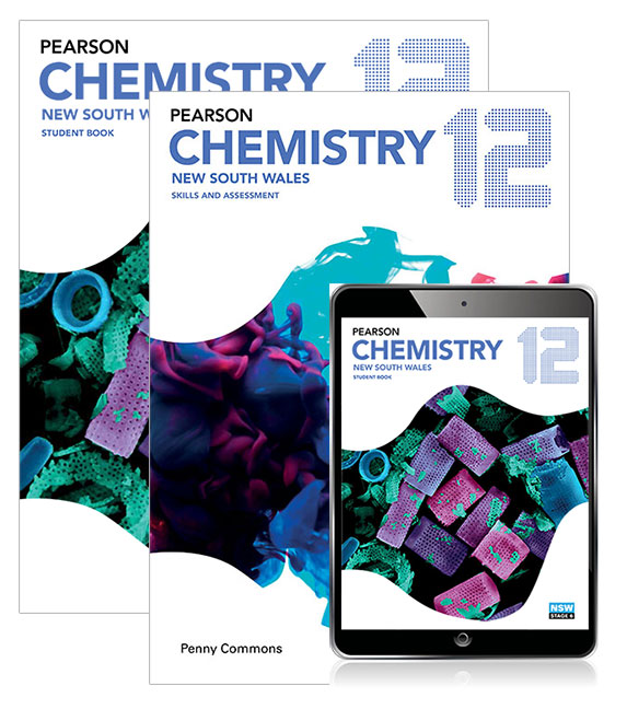 Pearson Chemistry 12 New South Wales Student Book, eBook and Skills & Assessment Book