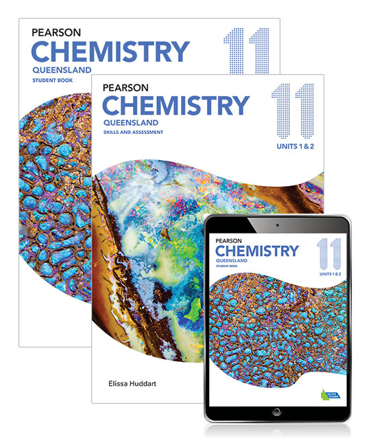 Pearson Chemistry Queensland 11 Student Book, eBook and Skills & Assessment Book