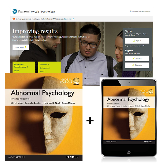 Abnormal Psychology, Global Edition + MyLab Psychology with eText