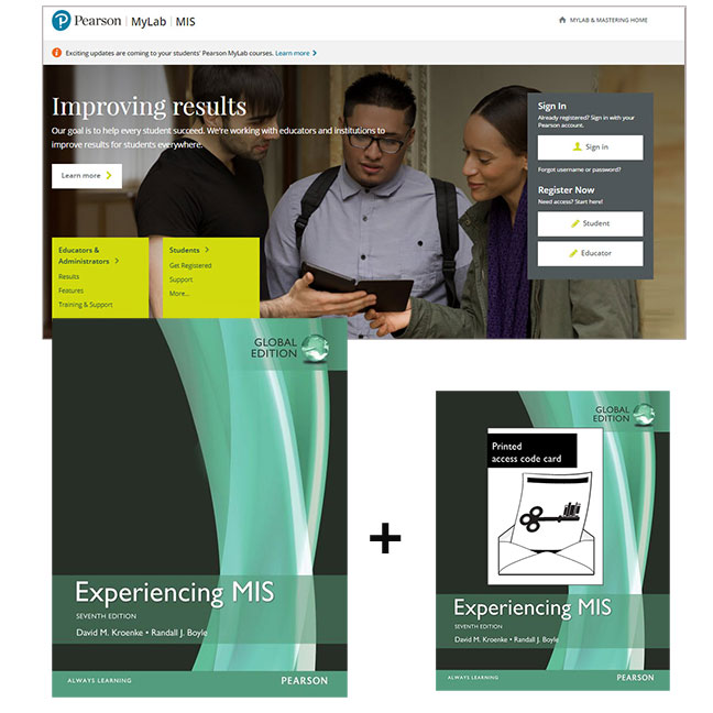 Experiencing MIS, Global Edition + MyLab MIS with eText