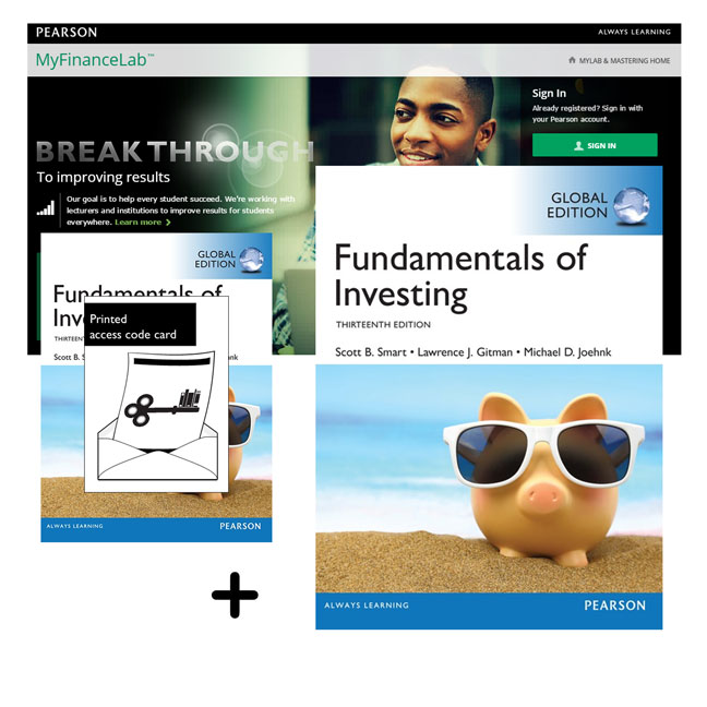 Fundamentals of Investing, Global Edition + MyLab Finance with eText