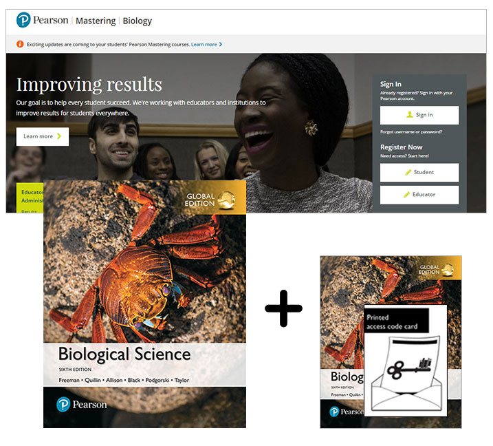 Biological Science, Global Edition + Mastering Biology with eText
