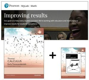 Value Pack Thomas' Calculus: Early Transcendentals in SI Units Global Edition + MyMathLab