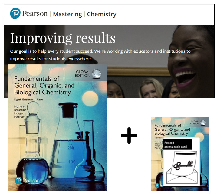Fundamentals of General, Organic and Biological Chemistry in SI Units, Global Edition + Mastering Chemistry with eText