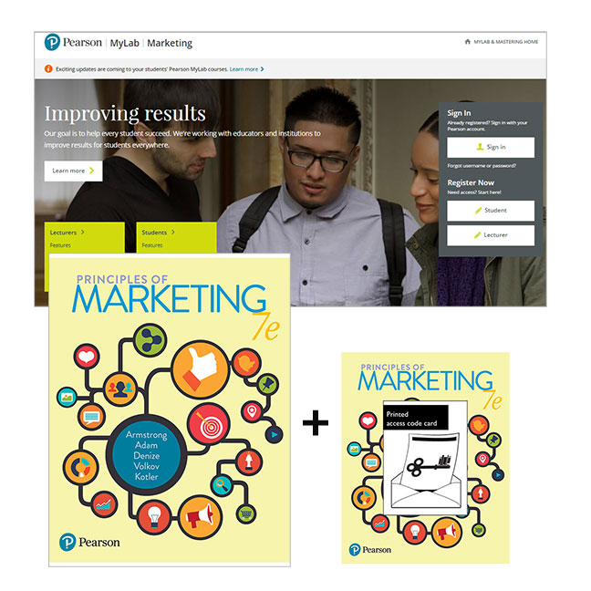 Principles of Marketing + MyLab Marketing with eText