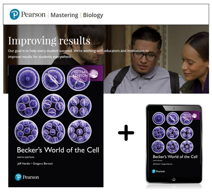Becker's World of the Cell, Global Edition + Mastering Biology with eText