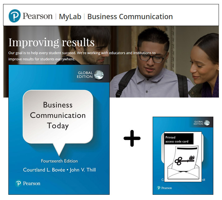 Business Communication Today, Global Edition + MyLab Business with eText
