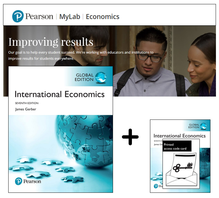 International Economics, Global Edition + MyLab Economics with eText
