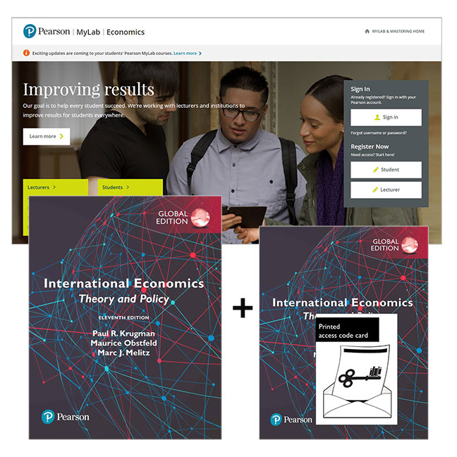 International Economics: Theory and Policy, Global Edition + MyLab Economics with eText