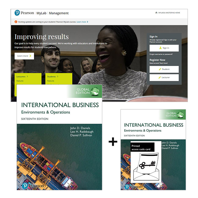 International Business, Global Edition + MyLab Management with eText