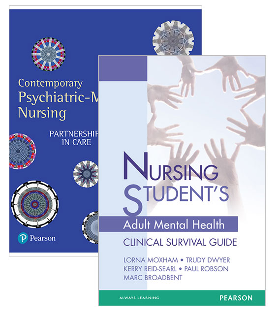 Contemporary Psychiatric-Mental Health Nursing: Partnerships in Care + Nursing Student's Adult Mental Health Survival Guide