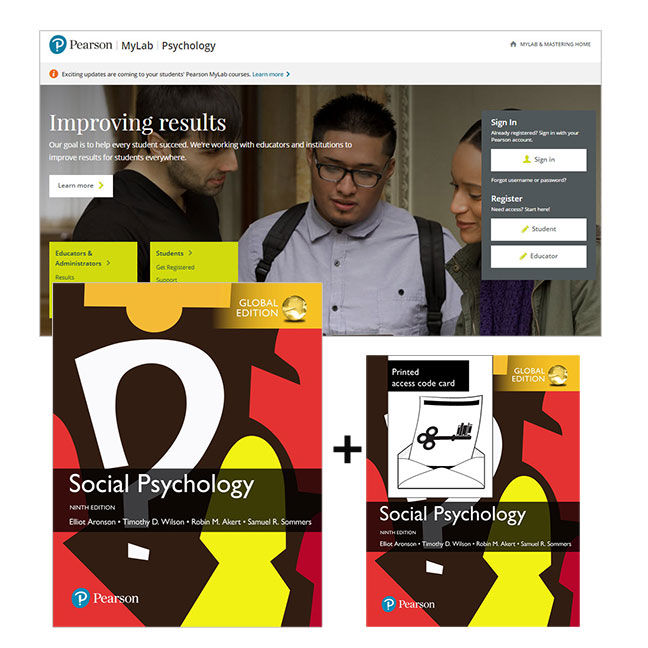 Social Psychology, Global Edition + MyLab Psychology with eText