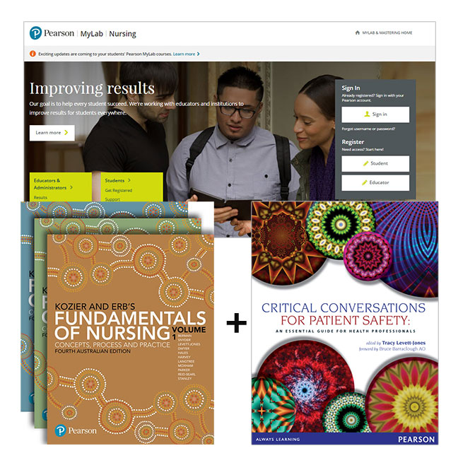 Kozier Fundamentals of Nursing + MyLab Nursing with eText + Critical Conversations for Patient Safety: An Essential Guide for Health Professionals