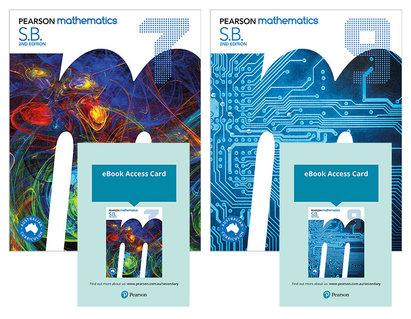 Pearson Mathematics 7 and 9 Student Book with eBook