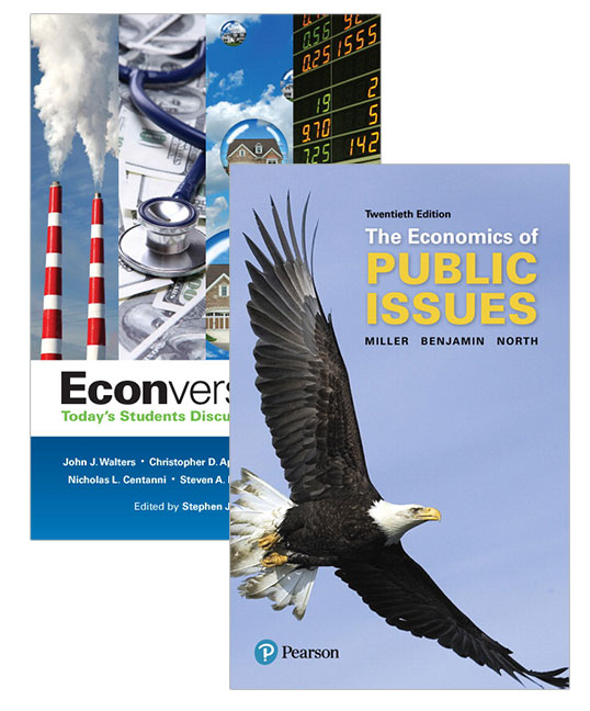 Econversations: Today's Students Discuss Today's Issues + Economics of Public Issues
