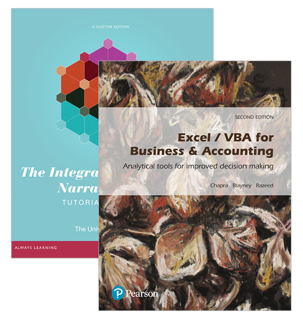 Excel / VBA for Business & Accounting (Pearson Original Edition) + The Integrated Accounting Narrative (Pearson Original Edition)