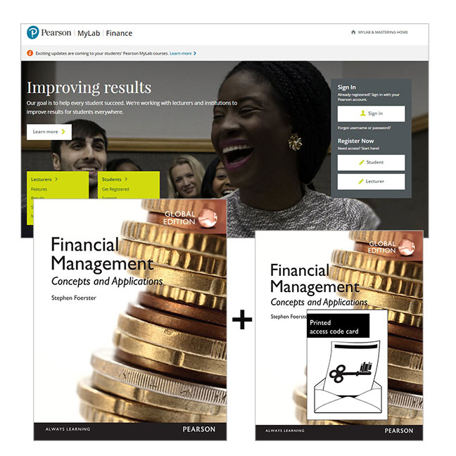 Financial Management: Concepts and Applications, Global Edition + MyLab Finance with eText