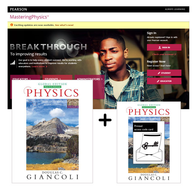 Physics: Principles with Applications, Global Edition + Mastering Physics with eText