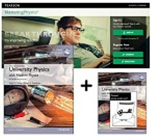 Value Pack University Physics with Modern Physics Global Edition + Masteringphysics with Etext