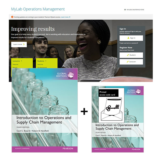 Introduction to Operations and Supply Chain Management, Global Edition + MyLab Operations Management with eText