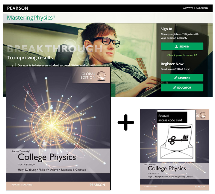 College Physics, Global Edition + Mastering Physics with eText