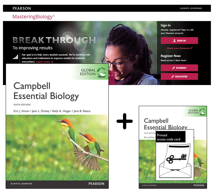Campbell Essential Biology, Global Edition + Modified Mastering Biology with eText