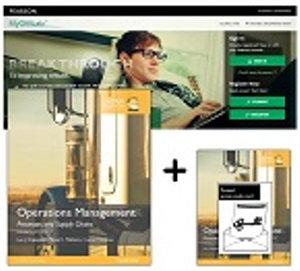 Value Pack Operations Management: Global Edition plus MyOMLab with eText