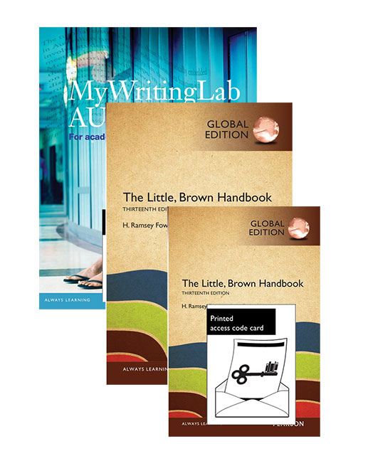 The Little Brown Handbook, Global Edition + MyLab Writing with eText