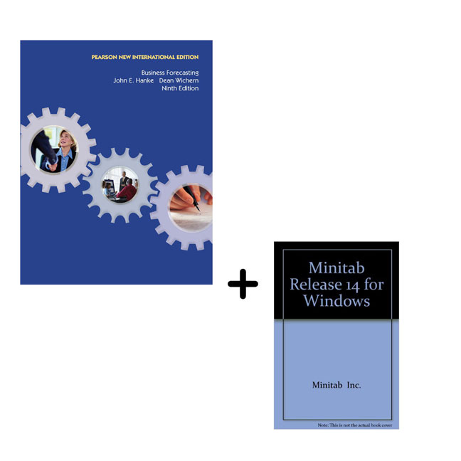 Value Pack Business Forecasting Pearson New International Edition and MINITAB Release 14 for Windows CD