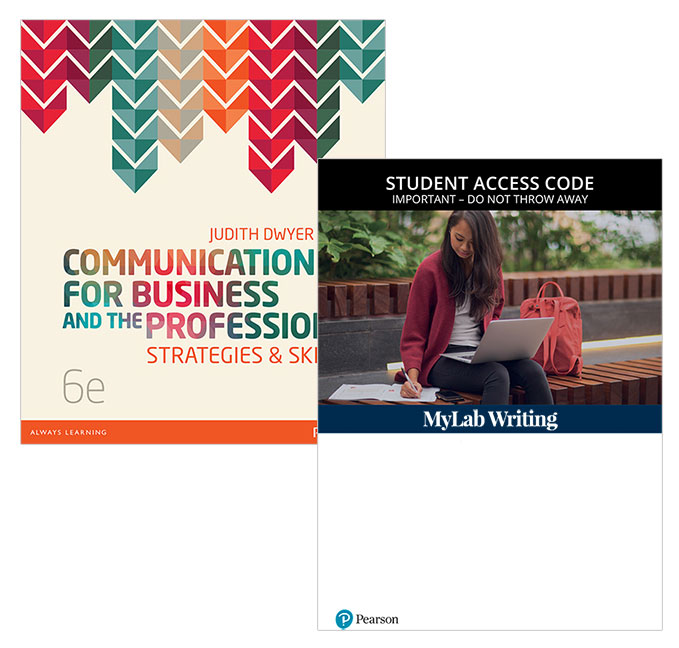 Communication for Business & the Professions + MyLab Writing