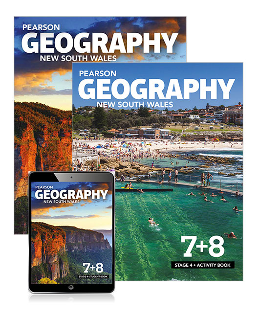 Pearson Geography New South Wales Stage 4 Student Book, eBook and Activity Book