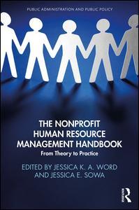 The Nonprofit Human Resource Management Handbook